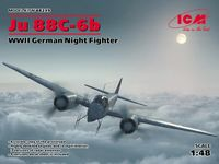 Ju 88C-6b WWII German Night Fighter