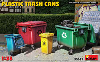 PLASTIC TRASH CANS - Image 1