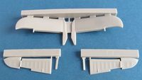 Beaufighter tailplane late version for Airfix - Image 1