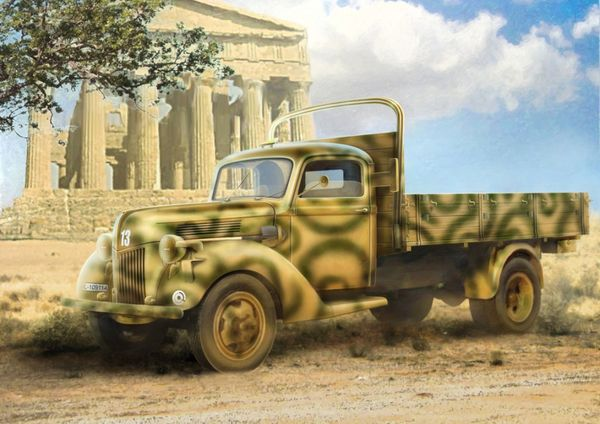 German Army truck V3000S (1941 production) ICM 35411