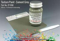 1390 Cement Grey Textured Paint (Engines, Interiors etc) - Image 1