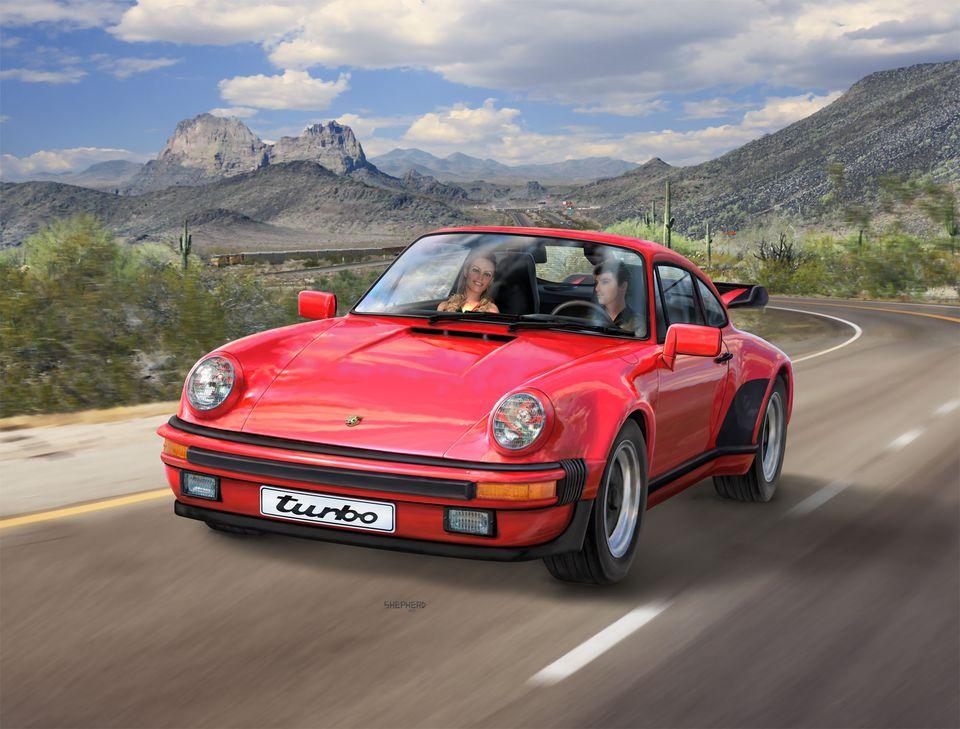 Porsche 911 Turbo Revell 07179