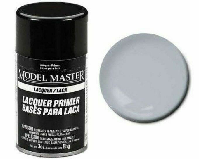 2981 Gray Lacquer Primer Spray - Image 1