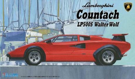 Lamborghini Countach Lp500s Fujimi 082783