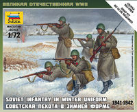 Soviet Infantry (winter uniform, 1941-1942 ) - Image 1