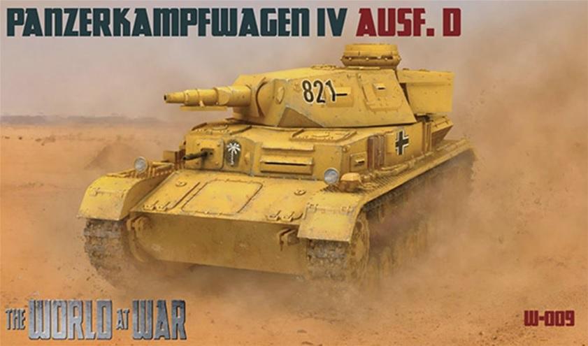 The World At War No009 Pz Kpfw IV Ausf D