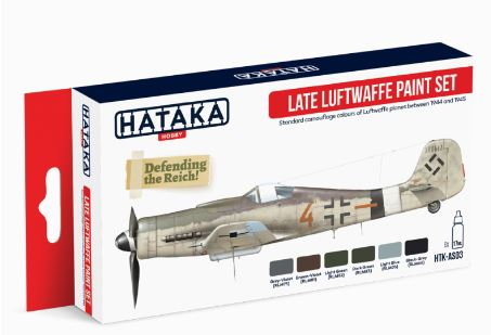 HTK-AS03 Late Luftwaffe paint Set - Image 1