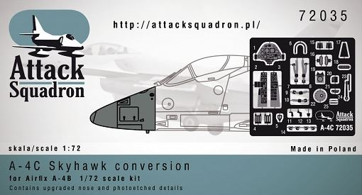A 4c Conversion For Airfix A 4bp Attack Squadron 72035