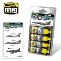 A.MIG 7211 FRENCH MODERN JETS Set