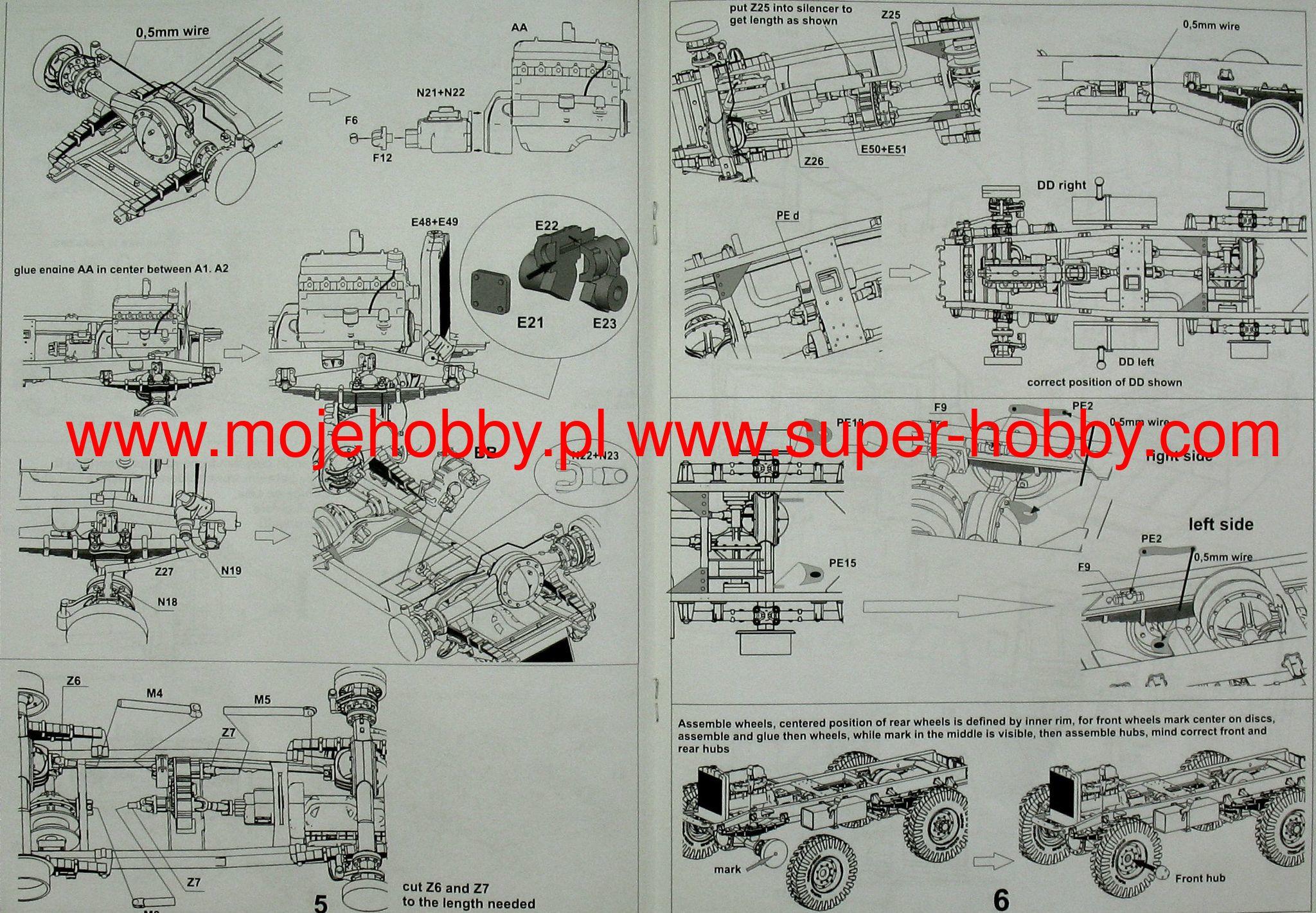 Cmp Cgt Field Artillery Tractor 4b2 Body Cab 13 Mirror Models 35122 Wire Diagram 2 Mer35122 4