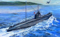 Japanese Navy I-58 Submarine