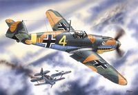 Bf 109F-4 WWII German Fighter - Image 1