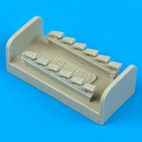 Bf 109G/K Exhaust Fujimi (New Tool) - Image 1