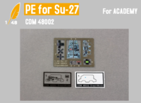 Cockpit PE for SU-27  (ACADEMY)