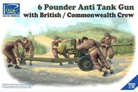 6 Pounder Anti Tank Gun with British / Commonwealth Crew - Image 1