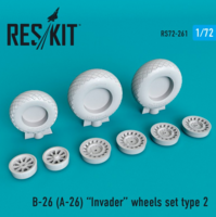 B-26 (A-26)  Invader wheels set type 2 - Image 1