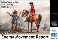 Indian Wars series, XVIII century. Kit No 3. Enemy Movement Report