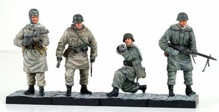 CanDo Pocket Army 20078  1:35 PANZER GRENADIERS KHARKOV 1943  Figure A  NOS