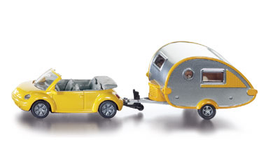 Car with Caravan - Image 1