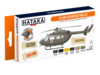 HTK-CS19 US Army Helicopters Paint Set