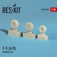 "Northrop F-5 A/B ""Freedom fighter"" wheels set"