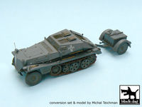 Sd.Kfz.252 + Sd.Anh.32 conversion set for Tamiya 32550, 26 resin parts - Image 1