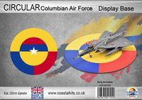 Circular Columbian Air Force 200mm