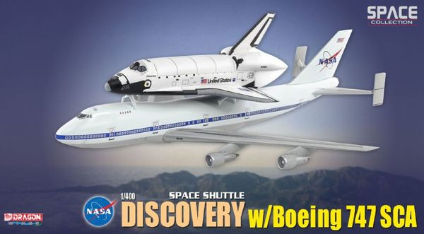 Space Shuttle Discovery w/ Boeing 747 Transporter (Space ...