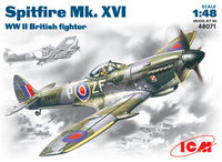 Spitfire Mk .XVI    WWII British fighter - Image 1