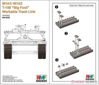 M1A1/ M1A2 T-158 Big Foot Workable Track Link - Image 1