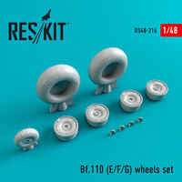 Bf.110 (E/F/G)  wheels set - Image 1