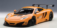 MCLAREN 12C GT3 PRESENTATION CAR (METALLIC ORANGE)
