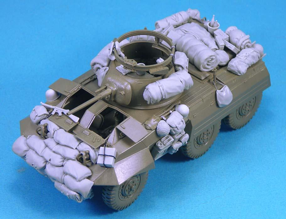 M8 Greyhound Stowage set