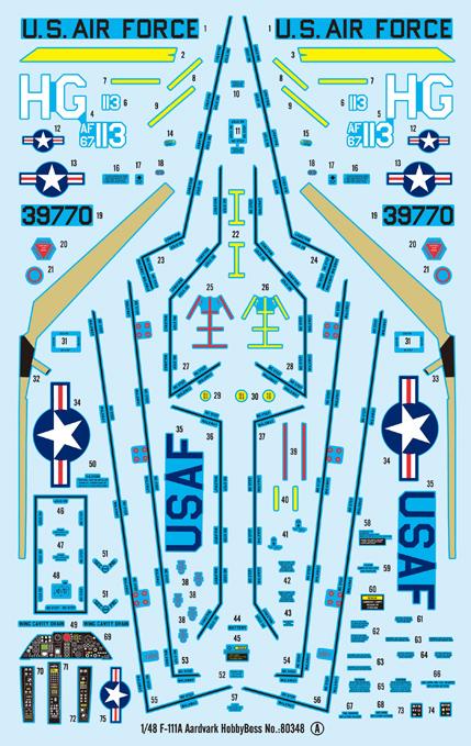 F-111A Aardvark Hobby Boss 80348