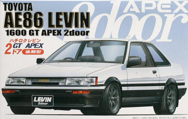Ae86 Levin 2door Gt Apex Late Fujimi 035260