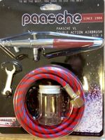 Paasche VL#3 airbrush - Card set