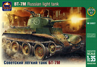 BT-7M Russian light tank - Image 1