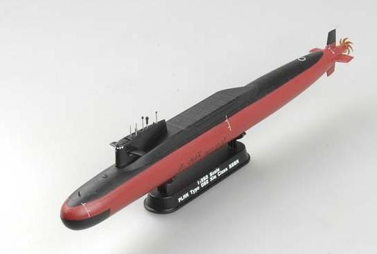 plan type 092 xia class submarine easy model 37506