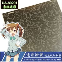 Camouflage Cover Mat