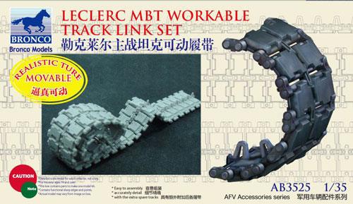 leclerc mbt workable track link set bronco ab3525. Black Bedroom Furniture Sets. Home Design Ideas