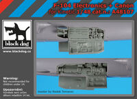 F-104 electronic + canon for Kinetic