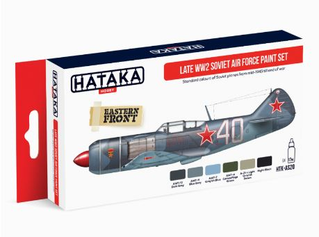 HTK-AS20 Late WW2 Soviet Air Force paint set - Image 1