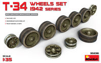T-34 WHEELS  SET. 1942 SERIES - Image 1