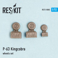 P-63 Kingcobra wheels set - Image 1