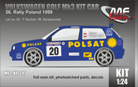 Volkswagen Golf MK3 Kit Car Kuchar - 56. Rally Poland 1999