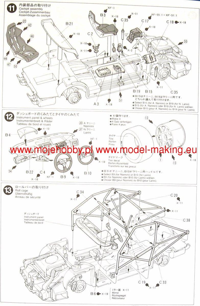 Alfa Romeo 155 V6 Tamiya 24137 Wiring Diagram 2 Tam24137 6