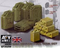 British WWII Fuel and water tank Set