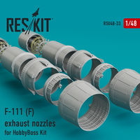 F-111 (F) exhaust nozzles for HobbyBoss Kit