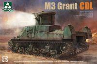 Hasegawa MT05 MEDIUM TANK M3 GRANT Mk.I 1//72 Scale Kit