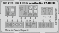 Bf 109G seatbelts  FABRIC REVELL - Image 1